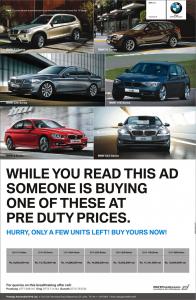 BMW Pre Duty Prices in Sri Lanka from Prestige Automobile (Pvt) Ltd