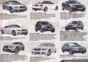 BMW Prices in Srilanka