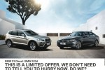 BMW X3 Diesel and BMW 520d Special Offer of USD 30,000 for Permit Holders in Srilanka