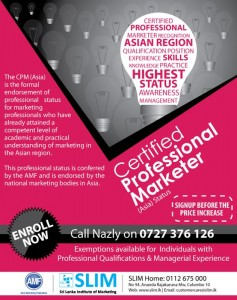 Certified Professional Marketers (Asia) Enrollment Now