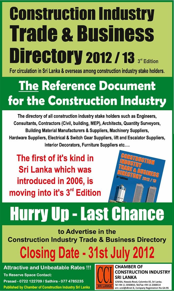 construction industry in srilanka