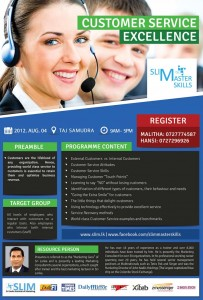 Customer Service Excellence Workshops in Srilanka