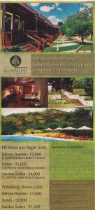 Green Paradise Dambulla ~ Eco friendly Resort in Dambulla
