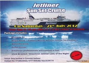 Jetliner Sun Set Cruise in Colombo, Srilanka