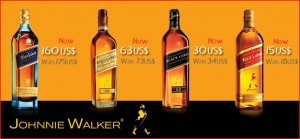 Johnnie Walker Srilankan Duty FREE Prices – Updated
