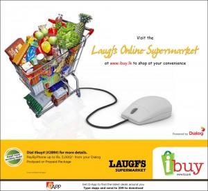 Laugfs Online Supermarket via Dialog ibuy.lk