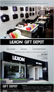 Lexon Gift Deport in Colombo – Enjoy your Unique and exclusive gift