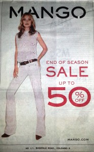 MANGO Srilanka Discounts up to 50%