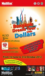 Multilac Paints - Bangkok Dream Tour with Dollars