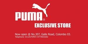 PUMA Exclusive Stores in Srilanka