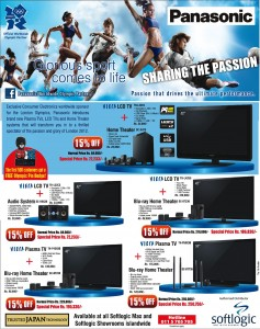 Panasonic Special 15% Discounts in Srilanka – Softlogic