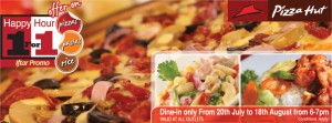 Pizza Hut Srilanka 1 For 1 Iftar Ramadan Promotion 20th July 2012 to 18th August 2012