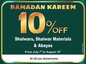 Ramadan Kareem 10% Off at Nolimit