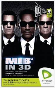 Reserve Man in Black III (MIB 3) Movie Tickets in Colombo Srilanka