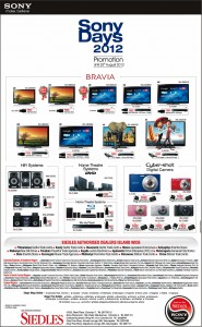 Sony Day 2012 Special Promotion in Srilanka - Until 25th August 2012
