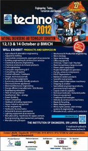 Techno 2012 Exhibition in Srilanka