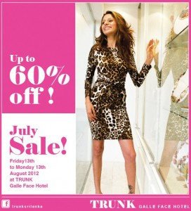 Trunk Srilanka Sale ~ Discounts Up to 60%