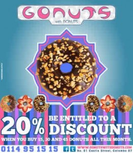 20% Discounts from Gonuts with Donuts