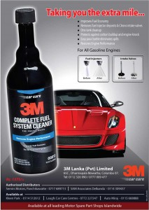 3M Fuel System Cleaner for Rs. 1,375.00 in Srilanka