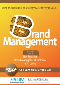 Brand Management 2nd Intake now from SLIM