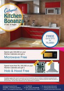 Centre Point Kitchen Bonanza 27th July to 31st August 2012