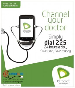 Channel your Doctor by Etisalat, Srilanka