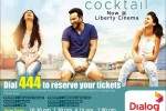 Cocktail now Screen in Liberty Cinema, book your Ticket Now