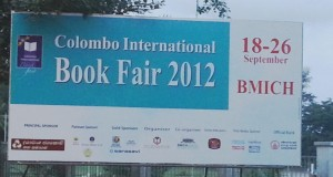 Colombo International Book Fair 2012 in Srilanka from 18th September to 26th September 2012