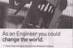 Engineering Degree from Swinburne's Malaysia Campus