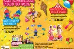 Excel World Kids party Offers