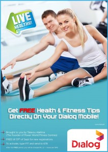 FREE Health & Fitness tips from Dialog Mobiles