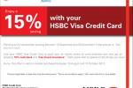 HSBC Credit Card offer for Srilankan Airline till 15th October 2012