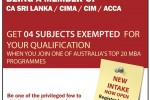 Institute of Chartered Accountants of Srilanka MBA Intakes for New Batch