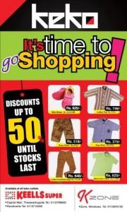 KEKO Discounts Upto 50% in this season