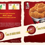KFC Srilanka Home Delivery Menu and Updated Prices