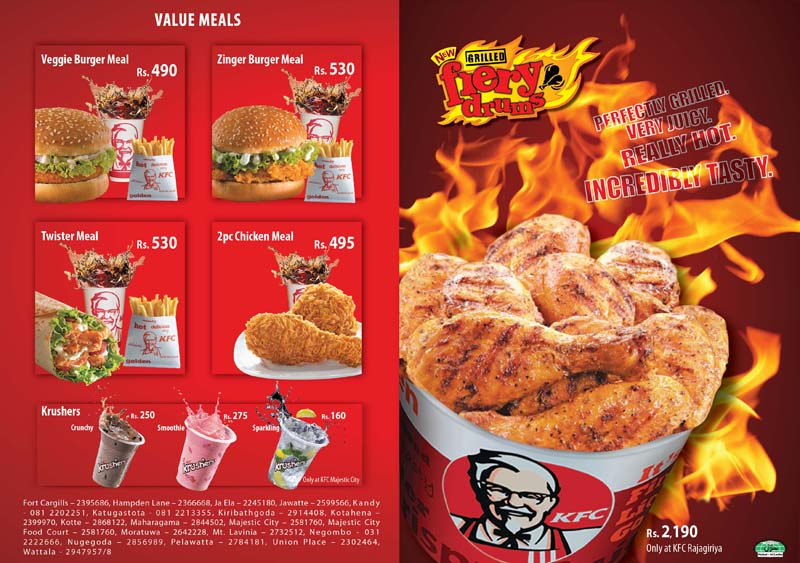 KFC Sri Lanka Menu Prices http://hughandjeffs.com/admin/kfc-prices-menu