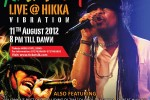 Maxi Priest Live @ Hikka Vibration – 11th August 2012