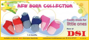 New Born Baby Shoe Collection for Rs. 299.90 from DSI