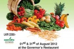 Organic Veggie Poya Buffet on 31st August 2012 at Mount Lavinia Hotel