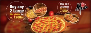 Pizza Hut Special offer for Mia Pizza Hut