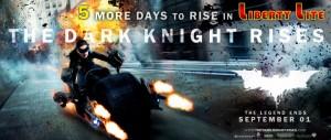 The Dark Knight Rises in Colombo Srilanka from 1st September 2012