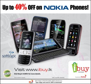 Up to 40% off on Nokia Phones from Softlogic