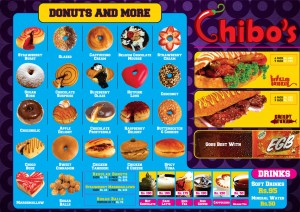 Gonuts with Donuts Menu and Updated Prices