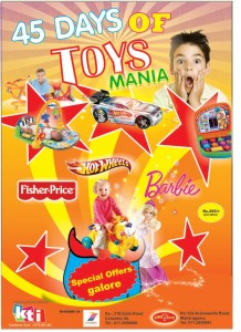 45Days of Toys Mania from KTI Colombo