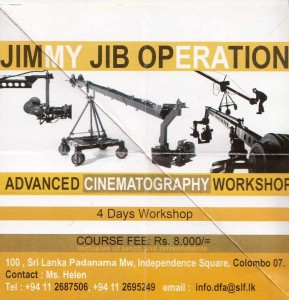 Advanced Cinematography Workshop in Srilanka