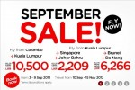Air Asia September Sale for Colombo- Kuala Lumpur and other destination