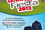 Bajaj Cricket Fiesta 2012 offer from 9th September to 10th October 2012