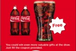 Buy two 1.5L Coca Cola PET Bottle and get Tumbler free till 21st October 2012