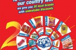 Cargills Foodcity T20 Offer My20 offer till 7th October