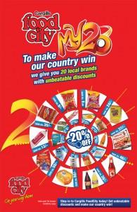 Cargills Foodcity T20 Offer My20 offer till 7th October